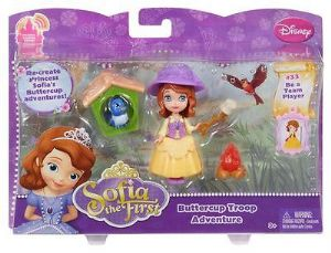 Sofia the First - Buttercup Troop Adventure Doll